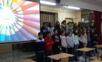 Visita al centro del alumnado de 6º primaria de Huéscar
