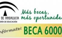 Convocatoria Beca 6000 curso 2016-2017