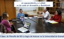 El dpto. de filosofía en la Universidad de Granada